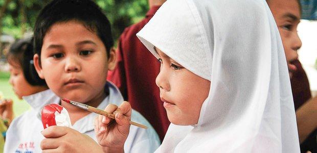Fotografia na Crescent International School, em Bangcoc, na Tailândia. Foto: Caio Vilela