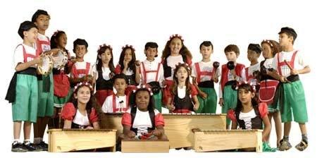 A banda de italianinhos: novo arranjo para canção folclórica. Foto: Marcelo Soubhia