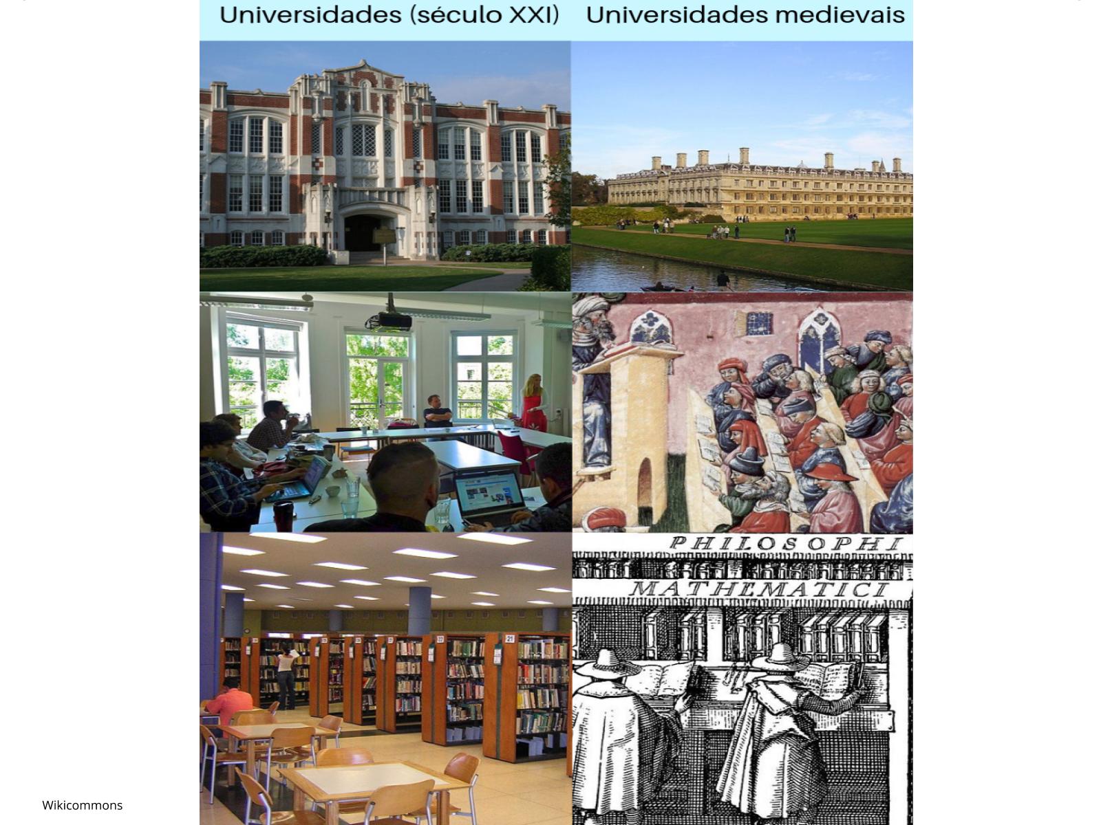 As universidades medievais