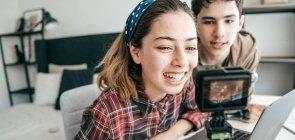Estudantes produzem vídeo em projeto de Educomunicação com uso de mídias digitais