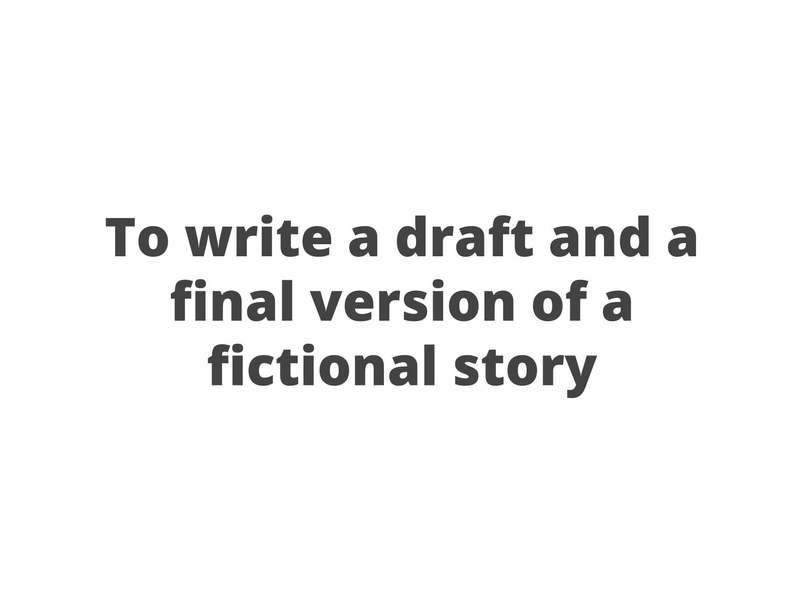 História de ficção