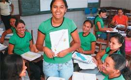 Marlene da Silva Brito, professora de 4ª série