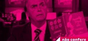 """Livro exibido por Bolsonaro faz parte de """"kit gay""""?"""