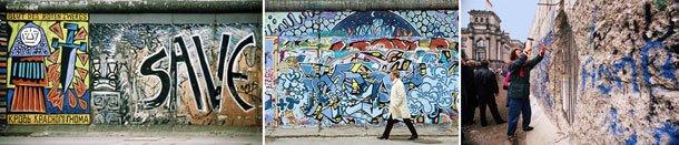 Muro de Berlim.Fotos: Valdemir Cunha e Antônio Milena