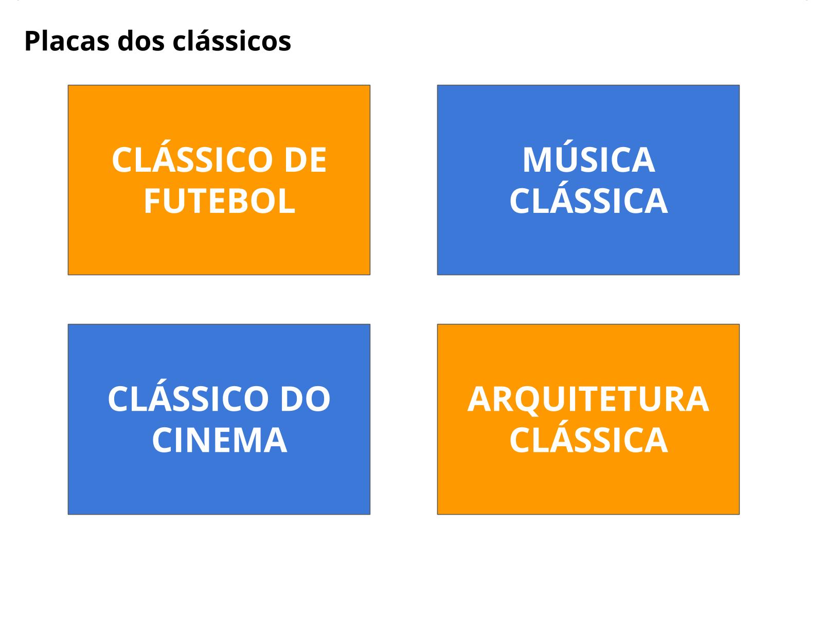 O conceito de clássico e suas ressignificações na História