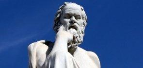 Estátua de Sócrates, um dos maiores pensadores da Educação