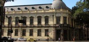Fachada de uma das unidades do colégio Pedro II, no Rio de Janeiro