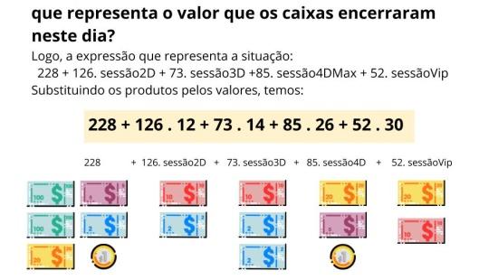Reconhecer a ordem na resolução das operações em escritas aritméticas