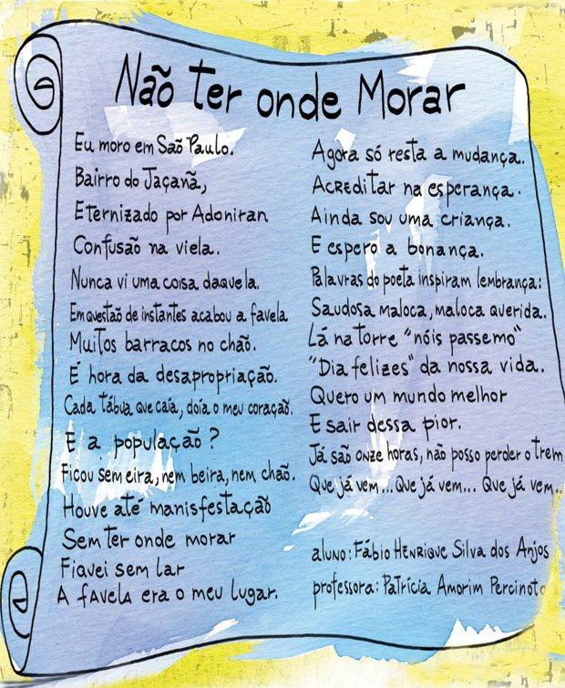 O poema de Fábio Henrique Silva