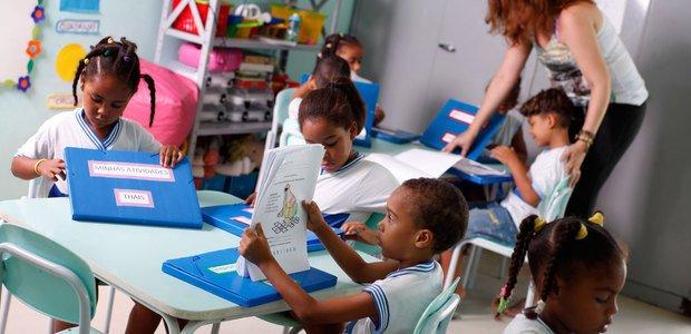 Educação Infantil: o olhar sobre as crianças. Foto: Fernando Vivas