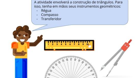 Elaborando critérios de congruência de triângulos
