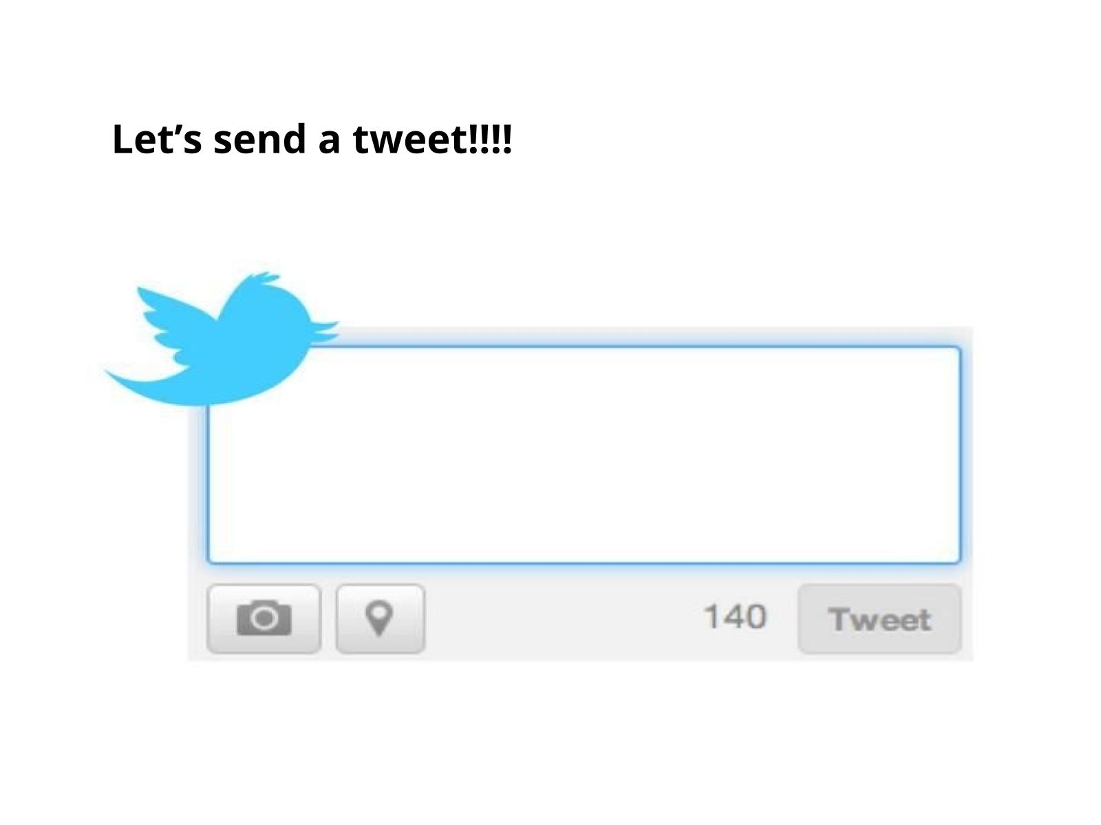 Mensagens de Twitter