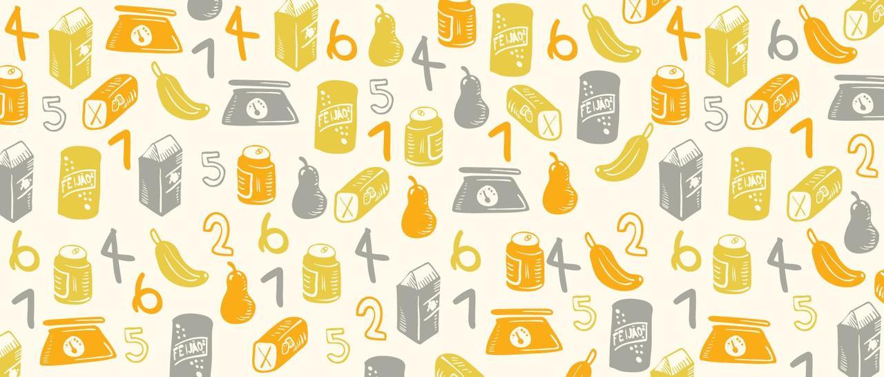 Apresentação do sistema numérico por meio dos rótulos dos alimentos