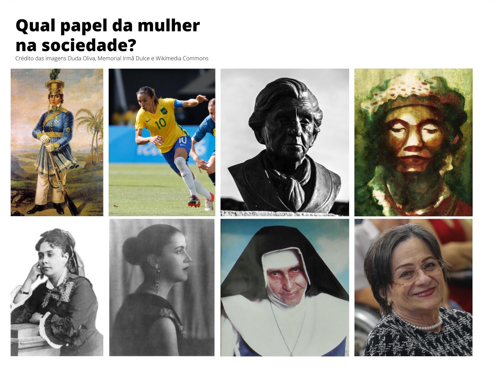 O Protagonismo das Mulheres em nossa História
