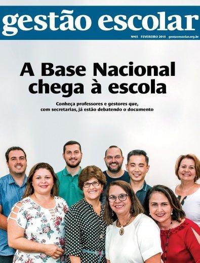 Capa da revista Gestão Escolar número 65