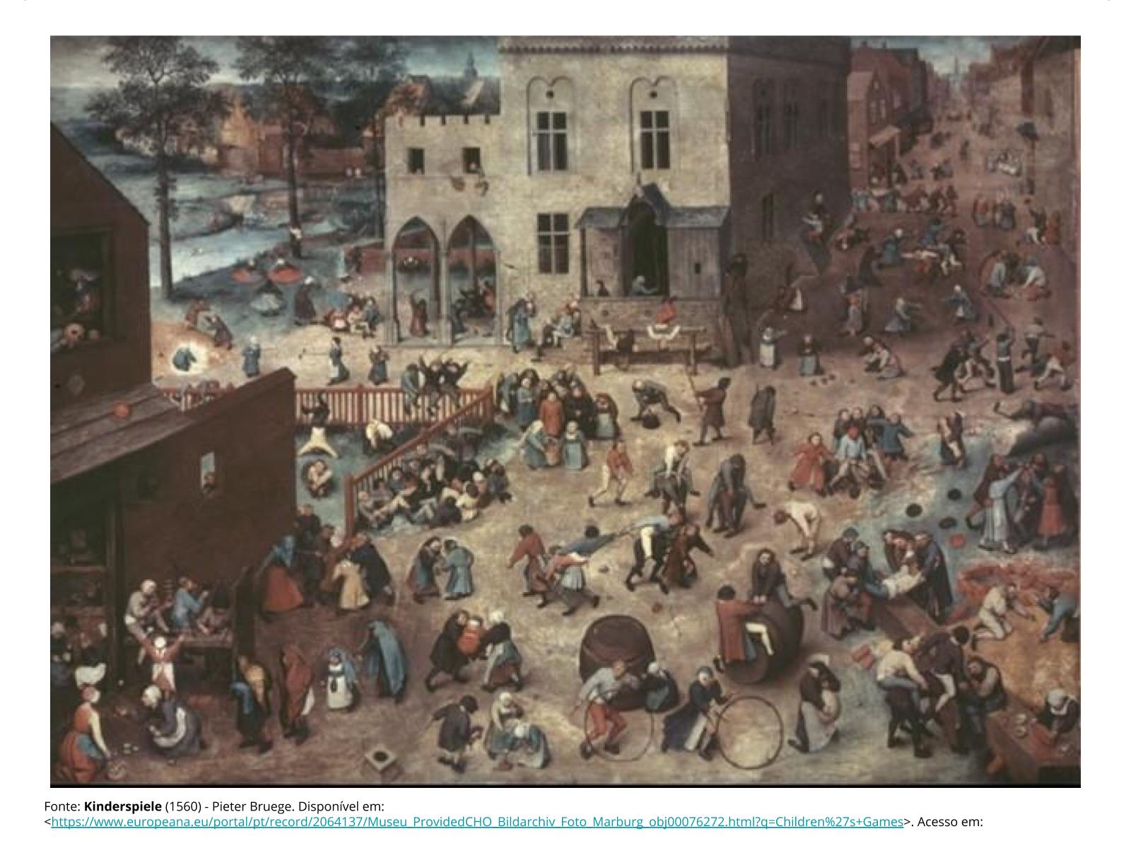 Brincadeiras em expressões artísticas: quebra-cabeças com pinturas