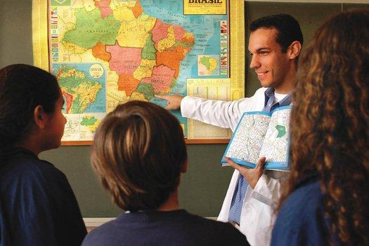 Uma opção de diagnóstico é pedir que desenhem um mapa com o que se lembram da escola.