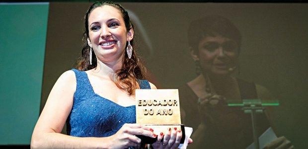 Paula Aparecida Sestari inscreveu projeto sobre o estudo do manguezal na Educação Infantil. Foto: Kriz Knack