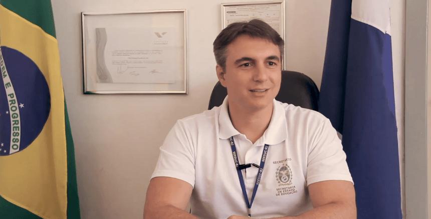 936bc0164 O secretário estadual de Educação do Rio de Janeiro, Pedro Fernandes  Crédito: Lucas Magalhães/Nova Escola