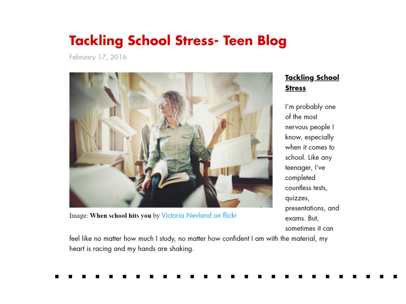 Postagem de blog