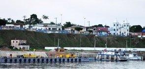 Porto do município de Itapiranga, no Amazonas