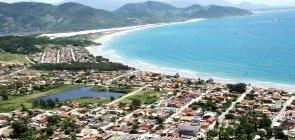 Cidade de Garobapa, no litoral de Santa Catarina