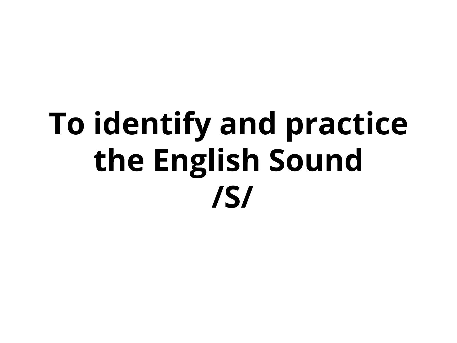 Identificar e Praticar os Sons da Língua inglesa (2)