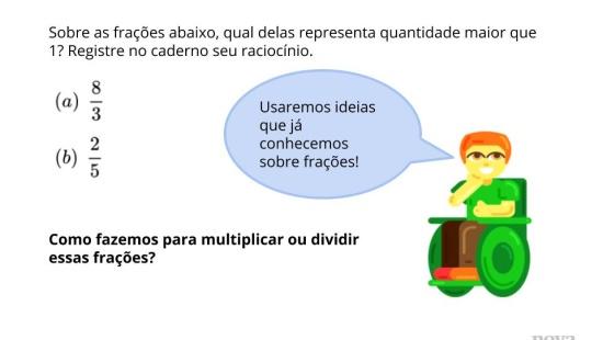 Interpretando Visualmente Operações Racionais.