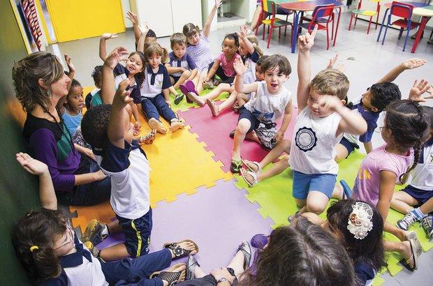 A LDB incluiu a Educação Infantil na Educação Básica. Marcos Rosa