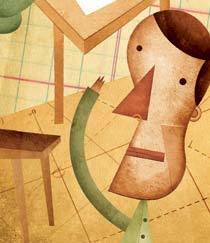 Recepção dos pais. Ilustração: Daniel Bueno