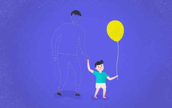 Dia dos pais sem pai