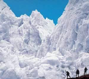 Geleira Glaciar Perito Moreno, no Parque Nacional Los Glaciares, na Patagônia. Foto: Divulgação