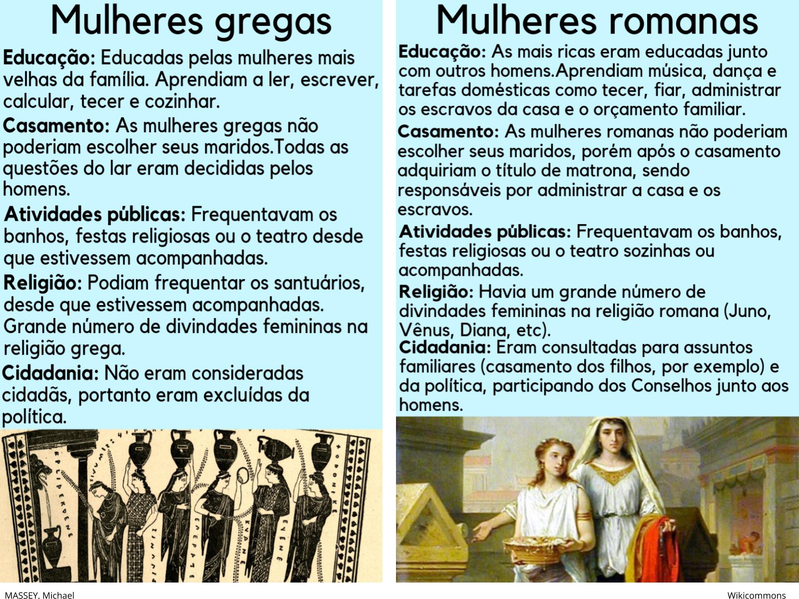 As mulheres romanas