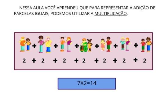 Multiplicando por 2