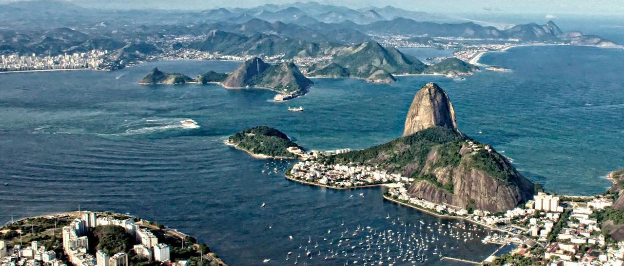No Rio, o mar não está para vela