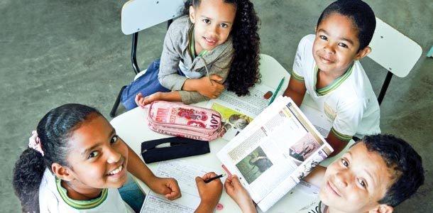 Diversidade a favor das aprendizagens. Foto: Raoni Maddalena