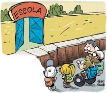 Ameaça de retrocesso paralisa a inclusão. Ilustração: Jean Galvão