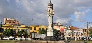 Praça do relógio em Belém (PA)