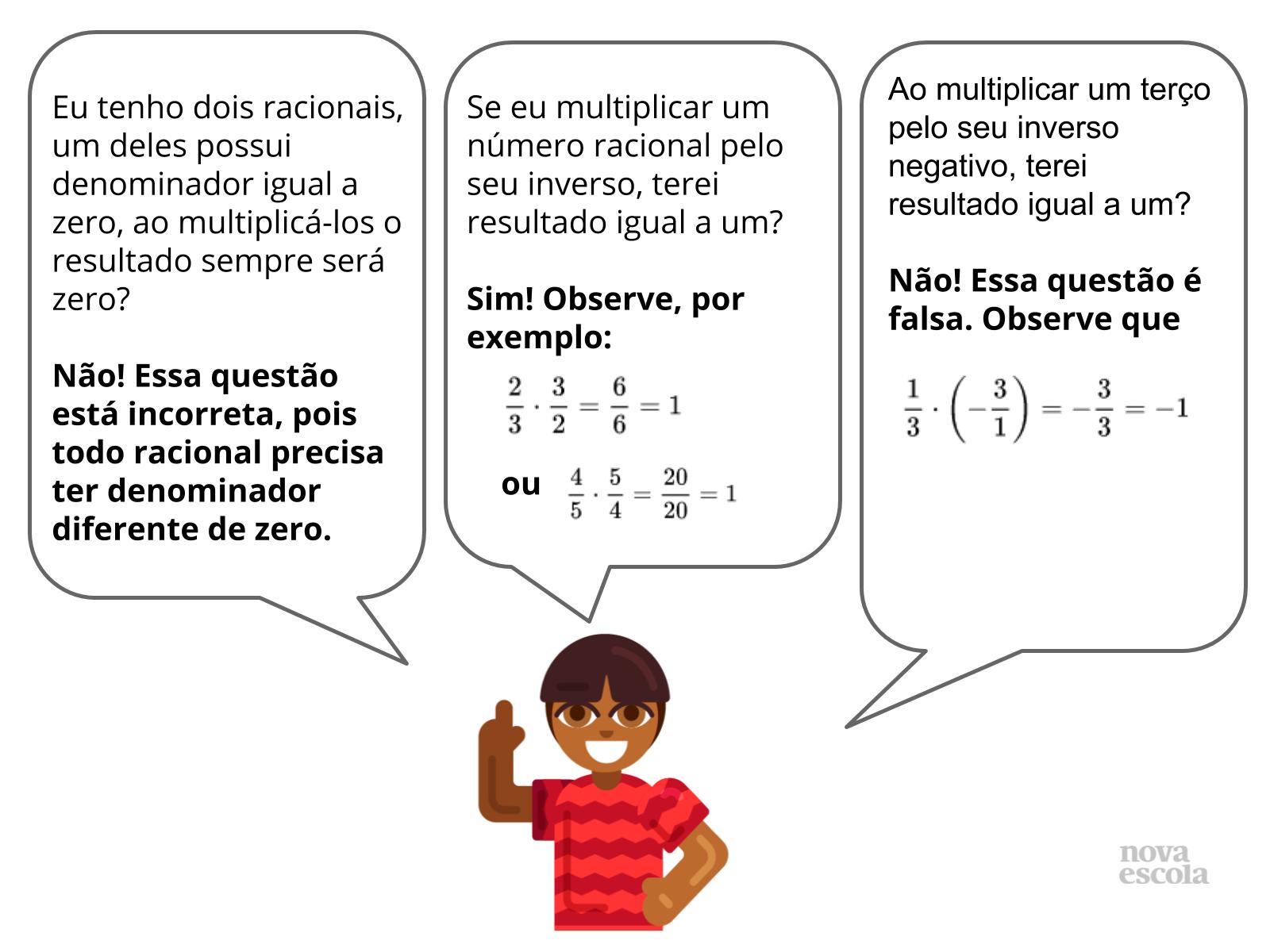Multiplicação de racionais fracionários na prática (ampliação)