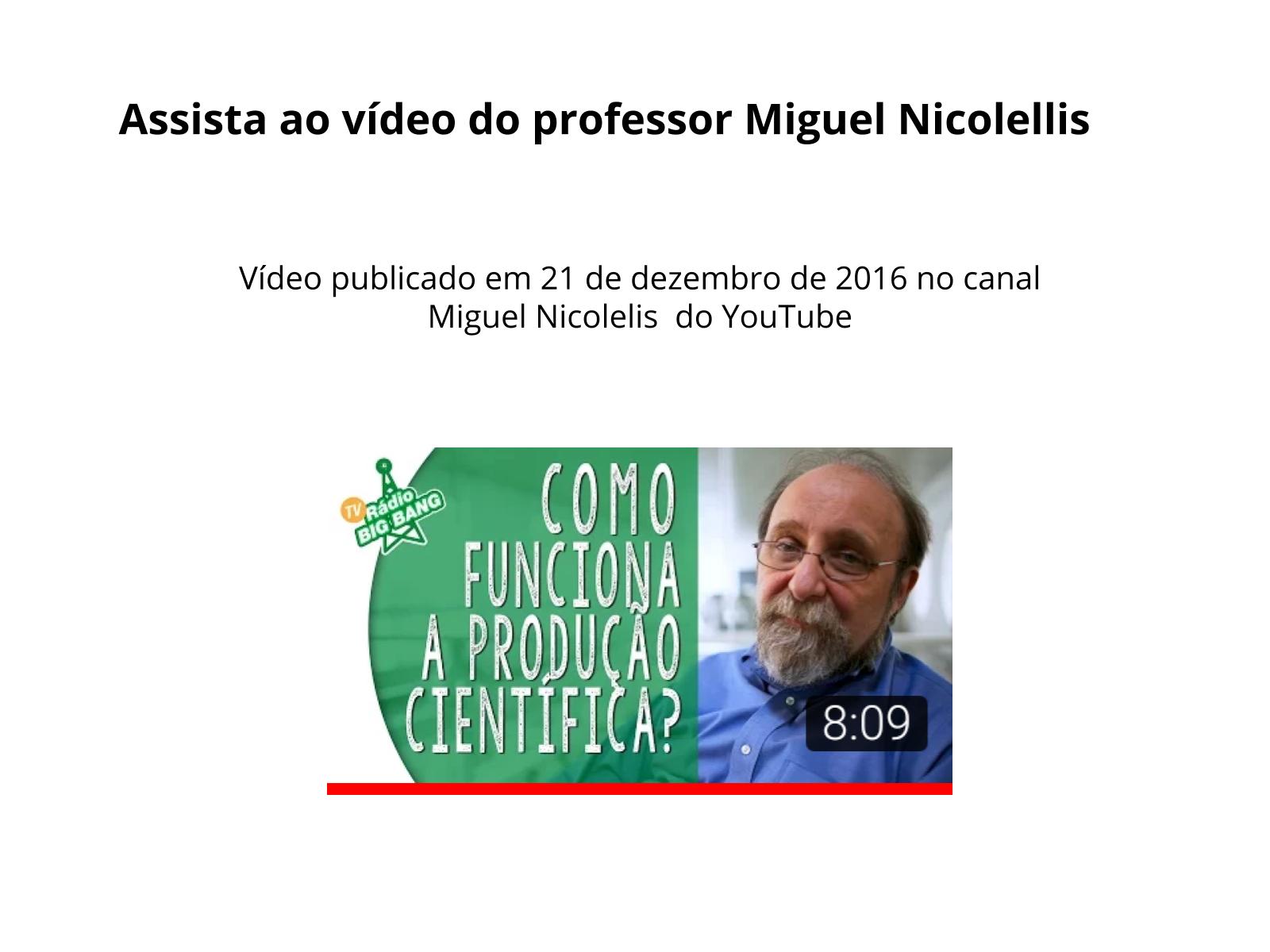 Compreender e revisar a forma composicional do vlog de divulgação científica
