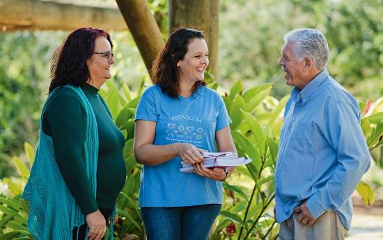 Marisa Martins Ferreira, Gisele Ferreira Carneiro e Jaciro Ferreira Netto, uma família de educadores