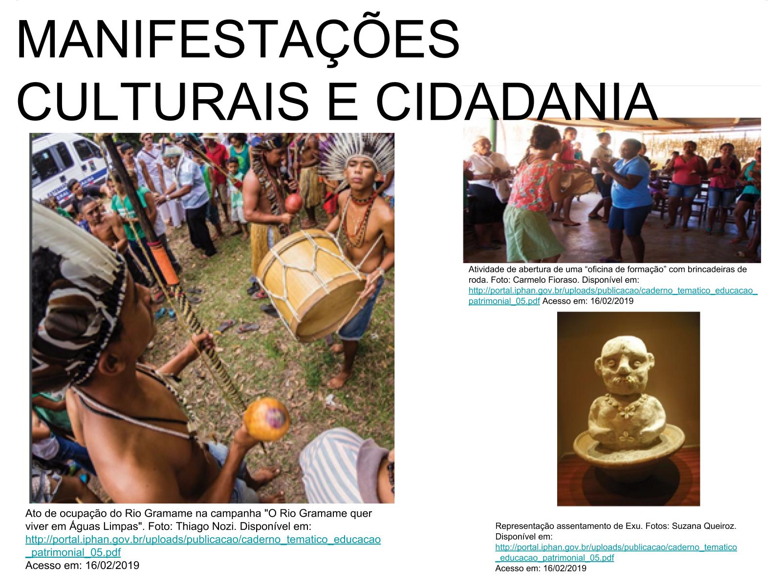 Eu e meus antepassados: história, memória e cultura