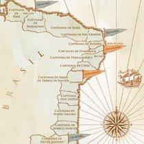 Cronologia das invasões francesas e holandesas. Ilustração: Bruno Algarve