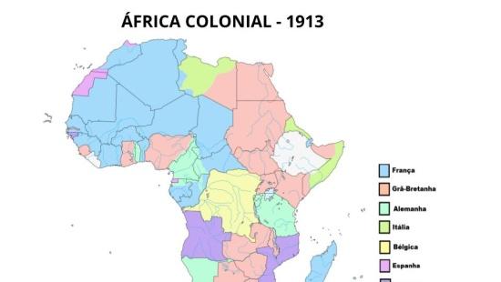 Geopolítica: situações de conflito decorrentes da colonização européia na África