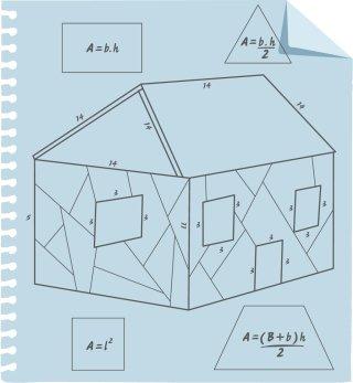 A casa enxaimel e algumas questões para problematizar . Ilustração: Bruno Algarve