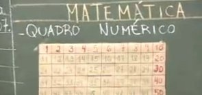 Analisando regularidades no quadro numérico