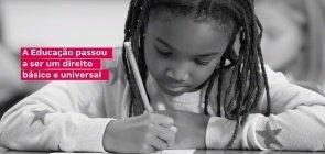 Todas as crianças têm direito à Educação pela Constituição