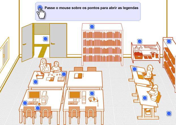 Sala de recursos. Bruno Algarve