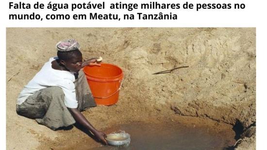 Quanto vale a água?