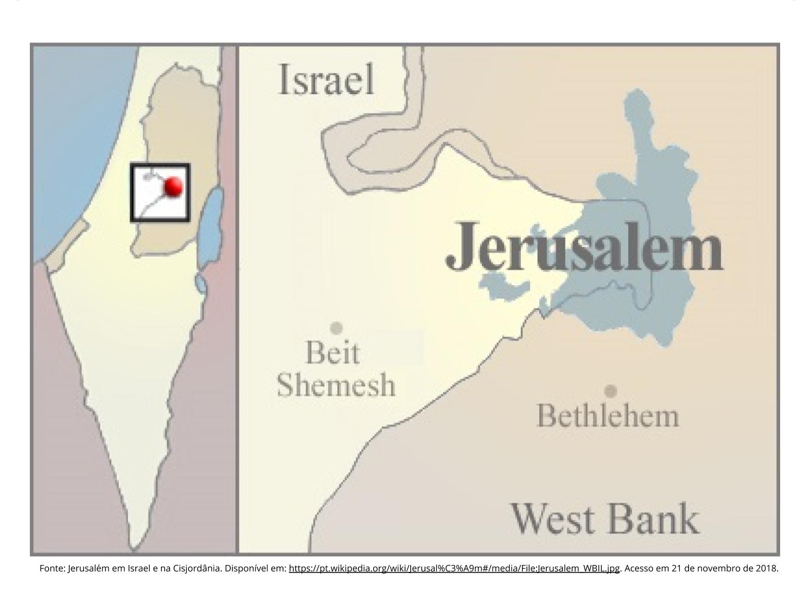 Minorias étnicas: o caso de Jerusalém